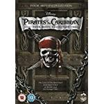 Pirates caribbean dvd Filmer Pirates of the Caribbean 1-4 Box Set [DVD]